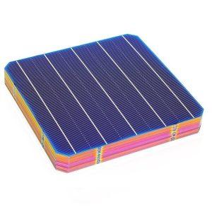 celdas solares monocristalinas