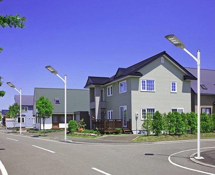 alumbrado publico solar led