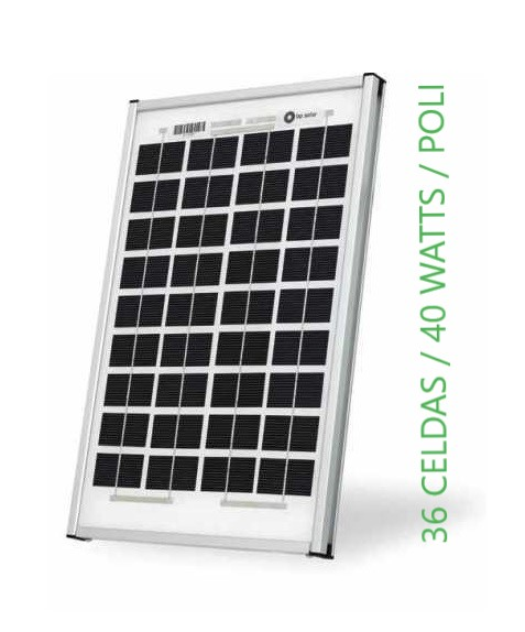 panel solar 40 watts suntotal